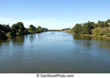hawkesbury, río