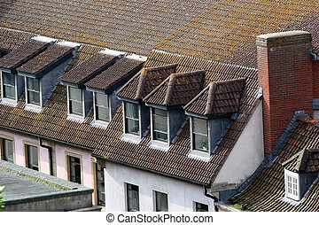 Hay habitaciones en el techo