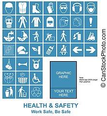 Haz tus propios signos de salud y seguridad