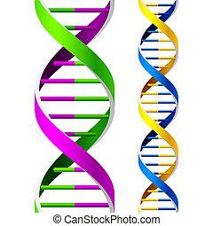 Hebras de ADN. Sin techo.