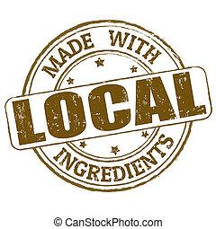 Hecho con sello de ingredientes locales