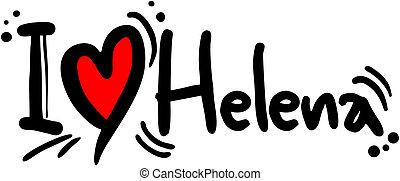 helena, amor