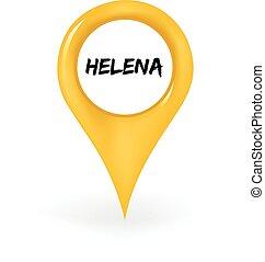 helena, ubicación