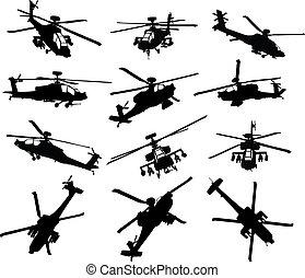 Helicópteros listos