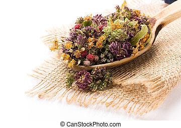 herbario, tea.