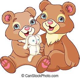 Hermanos oso
