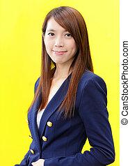 Hermosa mujer asiática