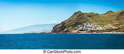 Hermosa vista en San Andrés cerca de Santa Cruz de Tenerife Canary Islands, España