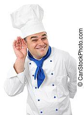 Hermoso cocinero
