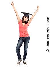 Hermoso estudiante universitario
