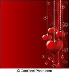 Hermoso fondo de San Valentín.