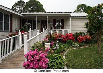 Hermoso hogar con rampa para discapacitados