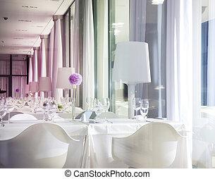 Hermoso interior blanco