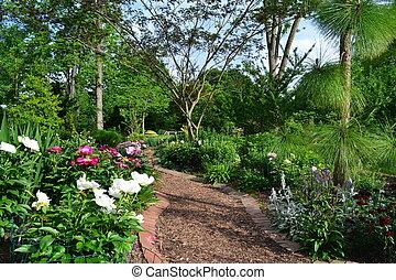 Hermoso jardín