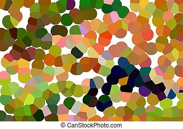 hermoso, naranja, sombras, marrón, plano de fondo, rojo, azul, resumen, púrpura, blanco, amarillo, círculos, verde, rosa, brillante