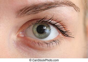 Hermoso ojo