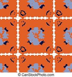 Hermoso patrón azulejo sin costura