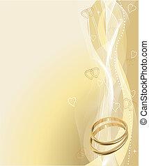 Hermosos anillos de boda