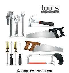 herramientas, ilustración