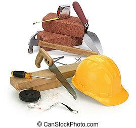 Herramientas y materiales de construcción