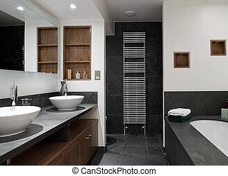 hers, cuarto de baño, el suyo, fregaderos, lujo
