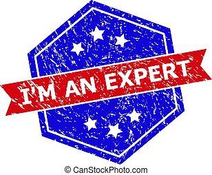 hexagonal, experto, grunged, bicolor, estampilla, soy, textura