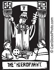 hierophant, tarjeta del tarot
