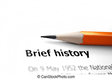 Historia del informe