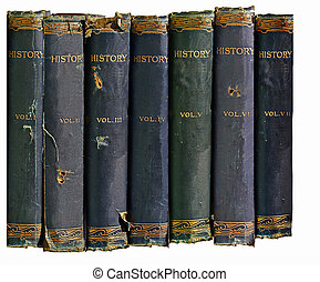 historia, libros, viejo