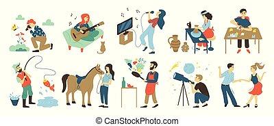 Hobbies y actividades de ocio, talentos y habilidades