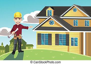 hogar, constructor