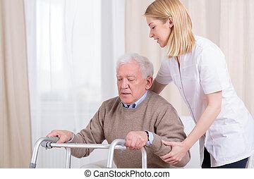 hogar, enfermería, rehabilitación