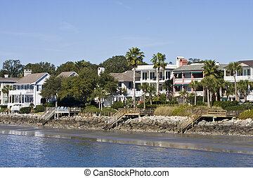 hogares, costero