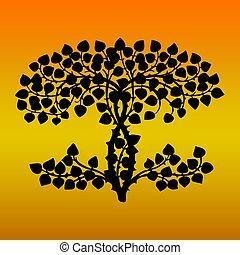 hojas, arbustos, arbustos, detalle, nature., plantas, verde, exuberante
