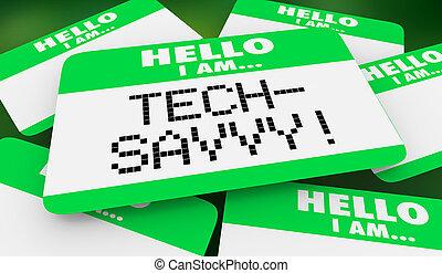 Hola, informática experta en tecnología. Soy la etiqueta 3D de ilustración