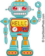 hola, robot
