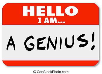 Hola, soy un genio experto en ideas brillantes