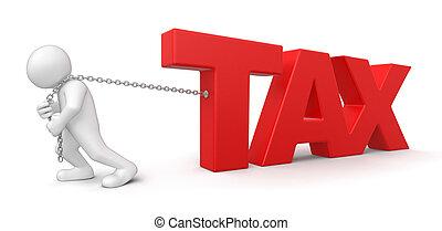 hombre de impuesto