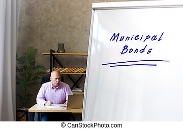 hombre de negocios, bonos, tabla, documentos, exitoso, señal, municipal, plano de fondo, marcador