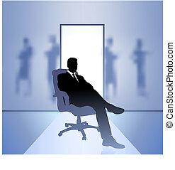 hombre de negocios, ejecutivo