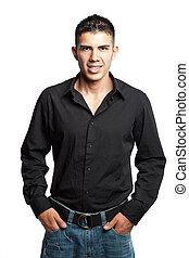 Hombre de negocios hispano