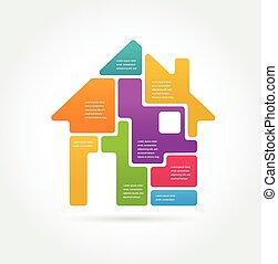 Home-informografías e íconos