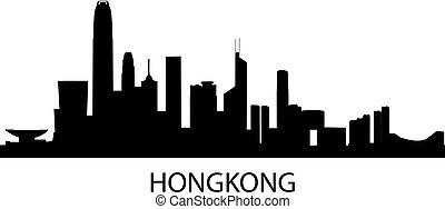hongkong, contorno