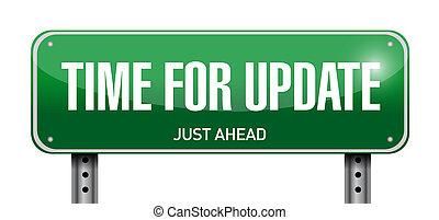 Hora de actualizar la ilustración de las señales de carretera