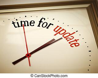 Hora de actualizarse