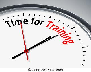 Hora de entrenar