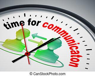 Hora de la comunicación
