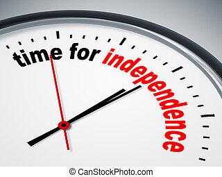 Hora de la independencia