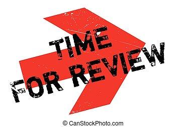 Hora de la revisión