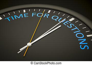 Hora de las preguntas